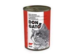 Don Gato konzerva kočka - hovězí 415g