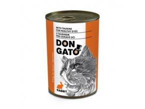 Don Gato konzerva kočka - králík 415g