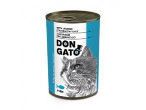 Don Gato konzerva kočka - ryba 415g
