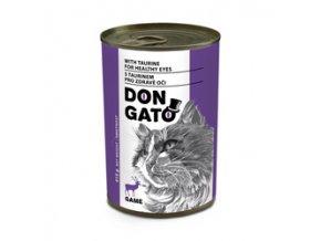 Don Gato konzerva kočka - zvěřina 415g