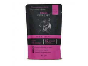Fitmin FFL cat pouch kitten chicken 85g