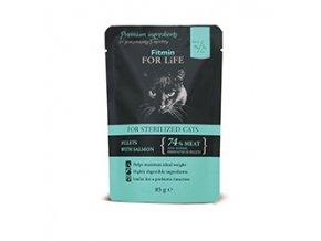 Fitmin FFL cat pouch salmon 85g