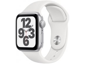 Apple Watch SE 40mm Silver/White SportB