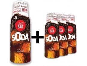 LIMO BAR - Sirupy - 3+1 Cola pack