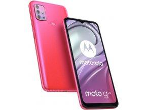 MOTOROLA Moto G20 NFC 4+64GB Red