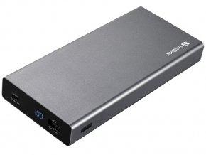 Sandberg PWB USB-C PD 100W, 20000mAh BK