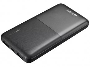 Sandberg PWB 10000 mAh, 2x USB-A BK