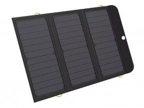 Sandberg Solar PWB 21W 2xUSB+USB-C, BK