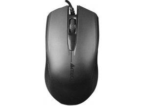 A4tech OP-760 Black, myš, 1 kolečko, 3 t