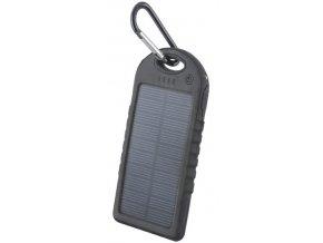 Setty solární power banka 5000mAh černá