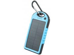 Setty solární power banka 5000mAh modrá