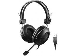 A4tech HU-35 sluchátka USB černá barva