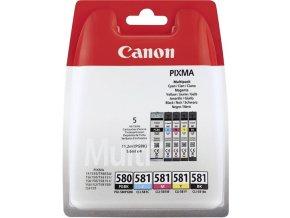 CANON PGI580/CLI581 BK/C/M/Y/K Multipack