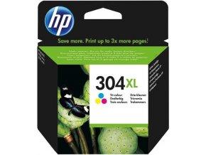 HP 304XL Tri-color, N9K07AE