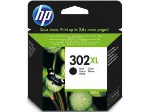 HP 302XL Black,  F6U68AE