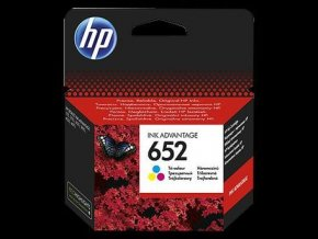 HP 652 Tri-colour, F6V24AE