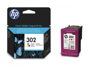 HP 302 Tri-colour, F6U65AE