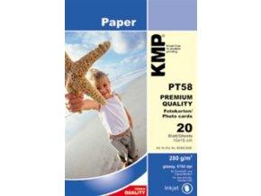 KMP PT58 fotopapír