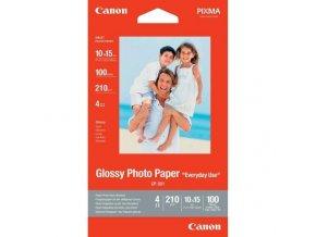 CANON fotopapír lesklý 10x15 cm