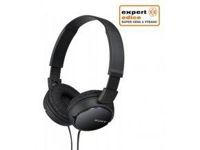SONY sluchátka MDR-ZX110B, černá