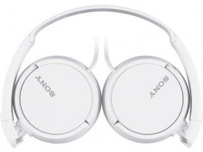 SONY sluchátka MDR-ZX110W,bílá