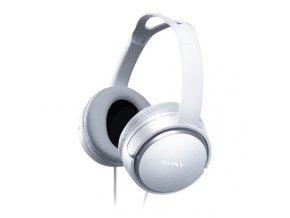 SONY sluchátka MDR-XD150, bílá
