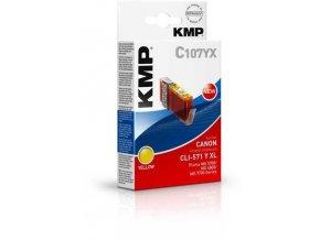 KMP C107YX (CLI-571Y XL)