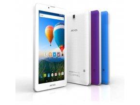 """ARCHOS 70 Xenon, Tablet 7"""" bílá/mod/fial"""