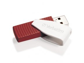 VERBATIM USB FD 16GB Swivel Red