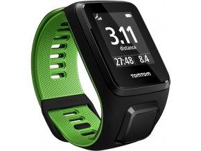 TomTom Runner 3 (S) černá/zelená
