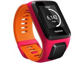 TomTom Runner 3 (S) růžová/oranžová