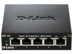 D-LINK 10/100 5-port switch (DES-105)