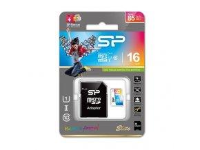 SP MicroSD,UHS-1,16GB SP016GBSTHBU1V20SP