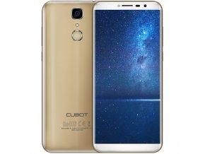 CUBOT X18, DS,zlatá