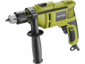 EXTOL 401163 vrtačka s příklepem, 550W