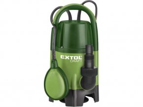 EXTOL 414121 čer 400W, 8000l/hod