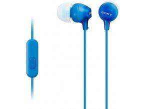 SONY MDR-EX15APLI,modrá