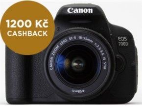 CANON EOS 700D 18-135 STM + 40 STM