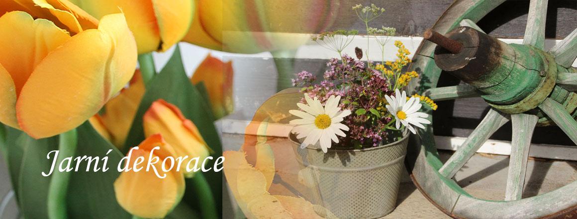 Jarní a velikonoční výzdoba