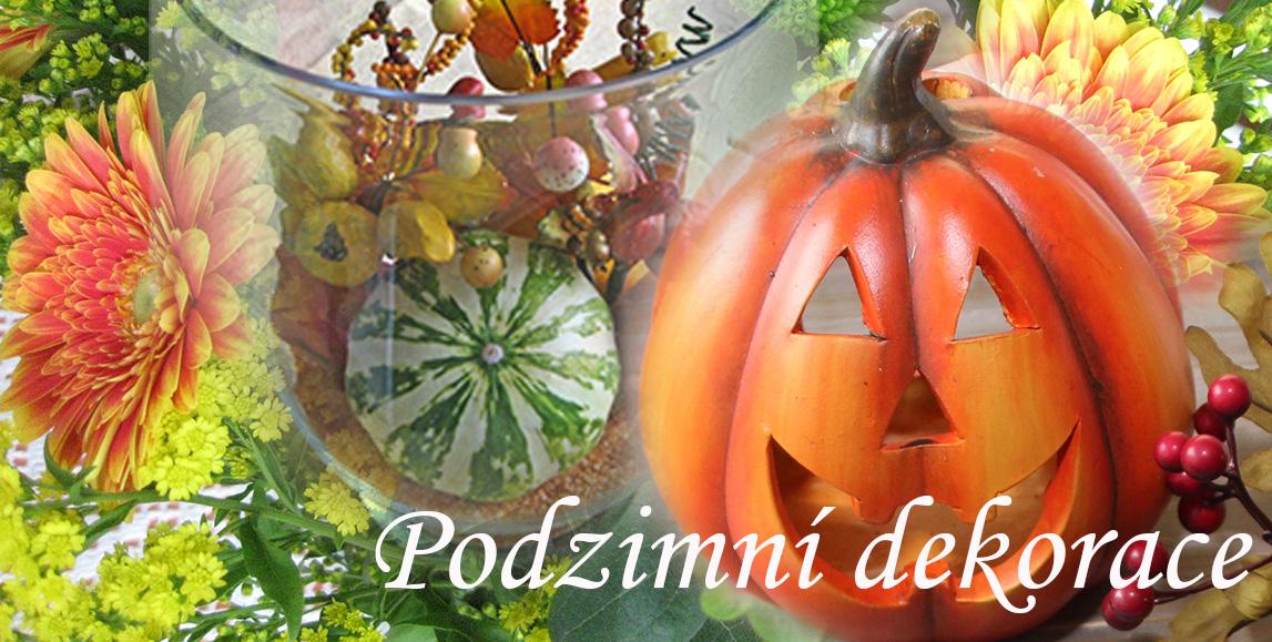 Podzimní dekorace a doplňky