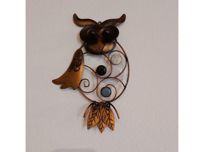 Nástěnná dekorace sova