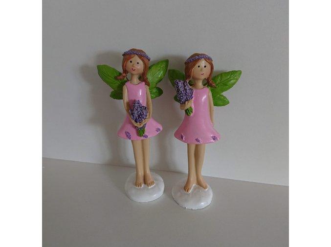 Zahradní víla dekorační figurka