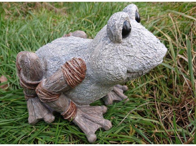Žába figura do zahrady