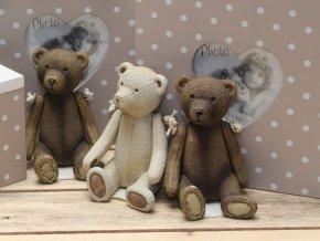 Medvídek retro figurka