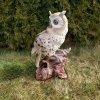 Sova zahradní figura