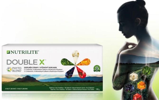 Nový a ještě lepší NUTRILITE DOUBLE X