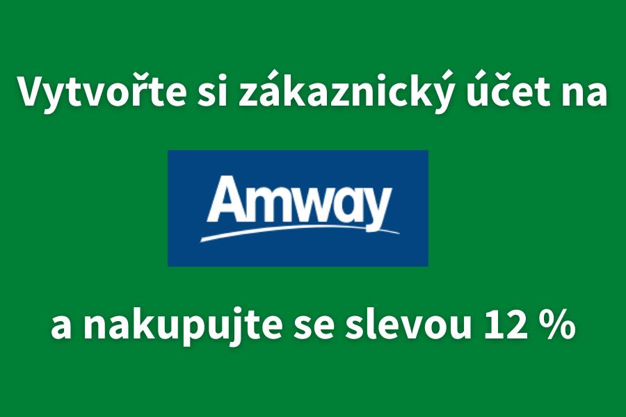 Registrace zákazníka Amway