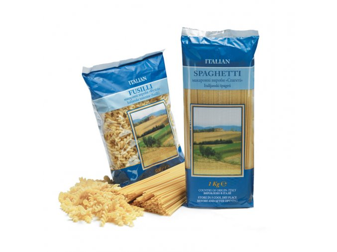fusili těstoviny z tvrdé pšenice