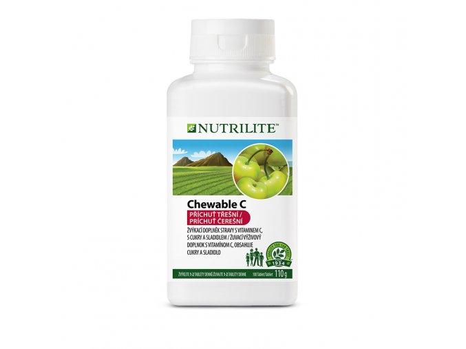vitamín C žvýkací nutrilite