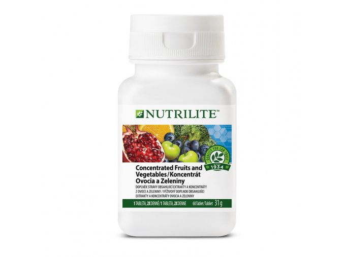 koncentrat ovoce a zelenina nutrilite